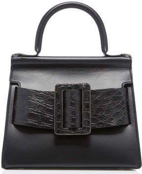Boyy Karl 24 Crocodile And Leather Bag