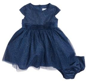 Us Angels Infant Girl's Sparkle Dot Dress