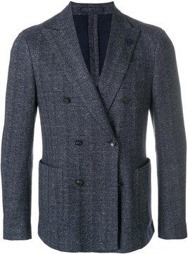 Lardini classic double-breasted blazer
