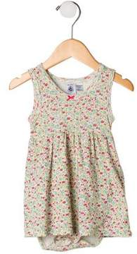 Petit Bateau Girls' Printed Sleeveless Dress