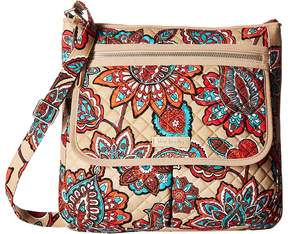 Vera Bradley Iconic Mailbag Handbags - DESERT FLORAL - STYLE