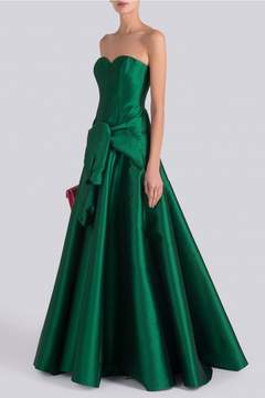 Alexis Mabille Low Tie Bustier Gown