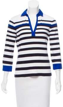 Basler Striped Long Sleeve Top