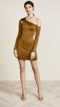 Cushnie et Ochs Sasha Cold Shoulder Dress