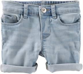 Osh Kosh Oshkosh Bgosh Toddler Girl Cuffed Bermuda Denim Shorts