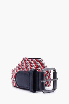 boohoo Multi Coloured Plaited Belt