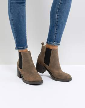 Office Apple Faux Fur Lined Boots