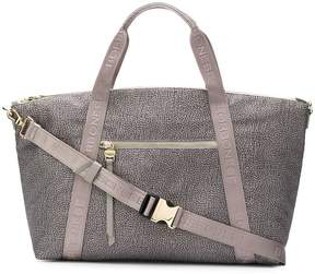 Borbonese printed leather tote