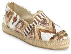 Manebi Los Angeles Espadrille Flatform Sandals