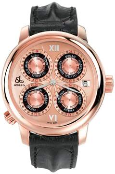 Jacob & co GMT World Time Automatic GMT7RG