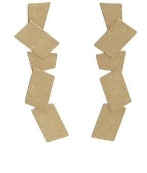 Violeta BY MANGO Metal pendant earrings