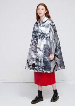 Comme des Garcons Graphic Print Overcoat