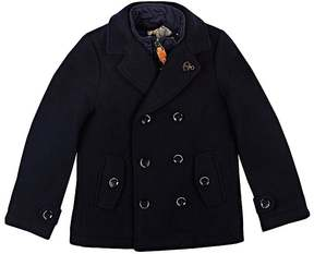 Scotch Shrunk WOOL-BLEND DOUBLE-BREASTED COAT