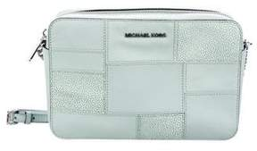 MICHAEL Michael Kors Patchwork Embossed Leather Crossbody