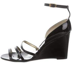 Walter Steiger Patent Leather Wedge Sandals