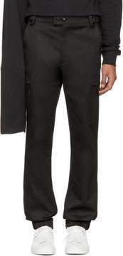 Raf Simons Black Cargo Pants