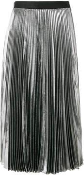 Christopher Kane lame pleated skirt