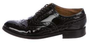Grenson Patent Leather Wingtip Brogues