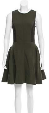 Timo Weiland Tweed-Paneled Mini Dress