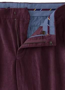 Lands' End Lands'end Men's Traditional Fit Pleat Front 10-wale Corduroy Trousers
