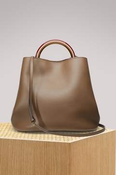 Marni Leather tote bag