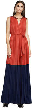 BCBGMAXAZRIA Adelaide Color-Blocked Gown