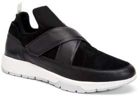 Calvin Klein Karsennap Strap Top Leather Sneakers