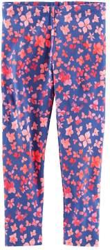 Osh Kosh Oshkosh Bgosh Girls 4-12 Floral Print Leggings