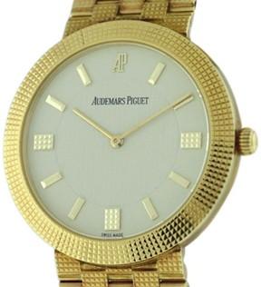 Audemars Piguet Classique 18K Yellow Gold 33mm Unisex Watch