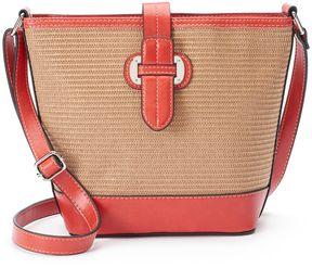 Mondani Lara Woven Bucket Bag