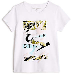 True Religion TODDLER/LITTLE KIDS CAMO GRAPHIC TEE