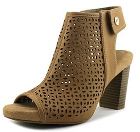 Giani Bernini Joiseyy Open Toe Synthetic Platform Sandal.