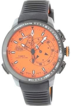 Timex Men's Intelligent Quartz TW2P73100 Black Silicone Quartz Watch