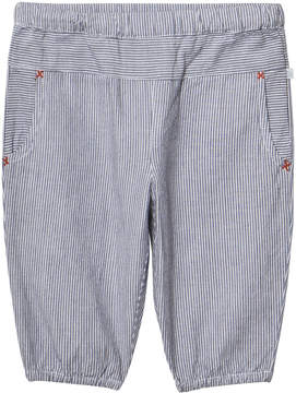 Mini A Ture Noa Noa Miniature Indigo Stripe Vintage Long Trousers