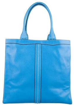 Valextra Classic Punch Tote