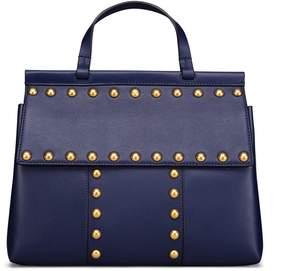 Tory Burch T STUD SATCHEL - ROYAL NAVY - STYLE