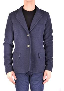 Armani Jeans Men's Blue Wool Blazer.