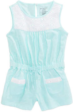 First Impressions Eyelet Romper, Baby Girls, Created for Macy's