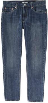 Joe Fresh Men's Slim Straight Vintage Wash Jean, Medium Wash (Size 32X30)