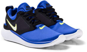 Nike Blue Black and White Lunar Solo Running Shoes
