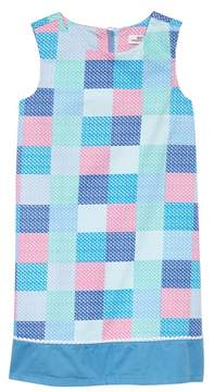 Vineyard Vines Check Shift Dress