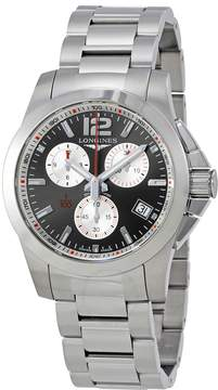 Longines Conquest Chronograph Grey Dial Men's Watch