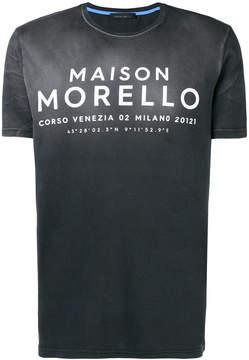 Frankie Morello Maison Morello T-shirt