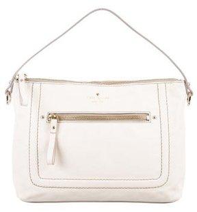 Kate Spade Mini Leather Satchel - WHITE - STYLE