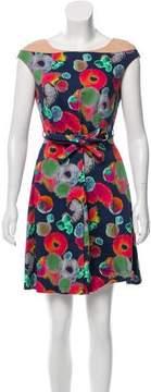 Cacharel Printed A-Line Dress