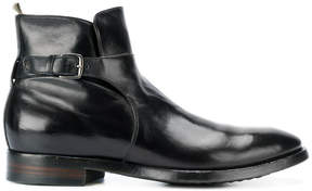 Officine Creative buckle strap ankle boots