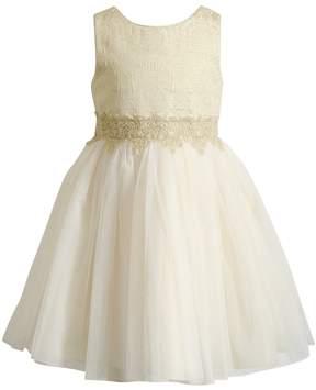 Youngland Girls 4-6X Lace Dress