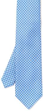 J.Mclaughlin Italian Silk Tie in Chain Link