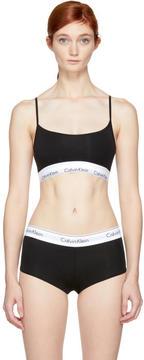 Calvin Klein Underwear Black Modern Cotton Unlined Bralette
