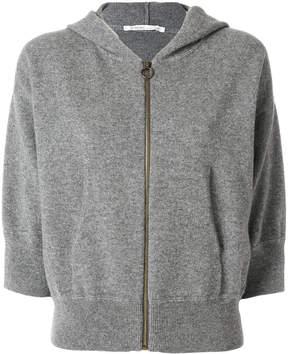 Agnona zipped hoodie
